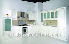 Modular Kitchen Wall Cabinets Modern Pvc Kitchen Cabinet With Glass Door Modular Kitchen