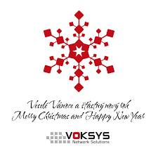merry and happy new year voksys