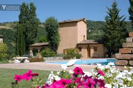 villa with tower for sale in umbria