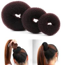 donut hair bun magic shaper donut hair ring bun styling accessories
