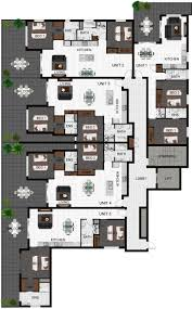 Multi Unit Apartment Floor Plans Multi Family Unit Floor Plans