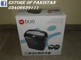 Home Paper Shredders by Gbc Duo Personal Paper Shredder For Home And Office Price In Pak