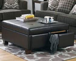 Havertys Coffee Table Coffee Tables Round Leather Ottoman Coffee Table Outstanding