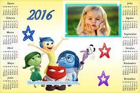 fotomontaje de calendario 2015 minions con foto hacer fotomontaje de calendario 2016 de intensamente disney fotomontajes