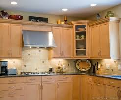 kitchen design ideas light wood cabinets and photos