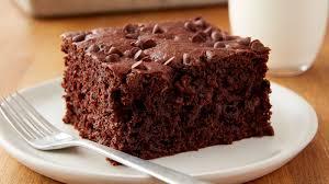 easy chocolate banana snack cake recipe bettycrocker com