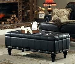 black leather square ottoman coffee table wonderful square ottoman coffee table cushioned black