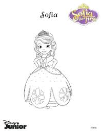sofia the first coloring pages free printable pictures print color
