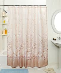 shower curtain lengths hookless shower curtains standard shower