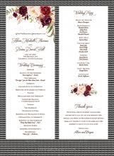 Samples Of Wedding Programs Wedding Program Samples Paperwhites Wedding Invitations