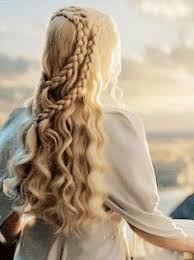 daenerys style hair daenerys targaryen game of thrones fan art anas messy braids