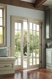 French Patio Doors With Screen by Center Sliding Patio Doors Outdoorlivingdecor