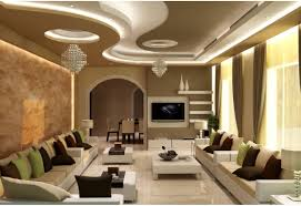 Gypsum Ceiling Design For Living Room by Gypsum Ceiling Design With Cornice And Concealed Lights Strip