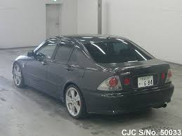 lexus altezza stock 1999 toyota altezza gray for sale stock no 50033 japanese