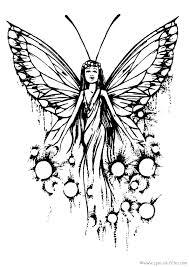en couleurs à imprimer animaux insectes papillon numéro 337200