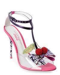Plum High Heels Sophia Webster Sandals In Purple Lyst