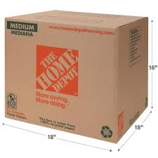 Home Depot Coupon Policy by The Home Depot 18 In L X 18 In W X 16 In D Medium Box 1001005