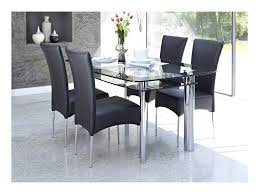Glass Dining Table And 4 Chairs by 4 Chair Dining Table Designs 50 With 4 Chair Dining Table Designs