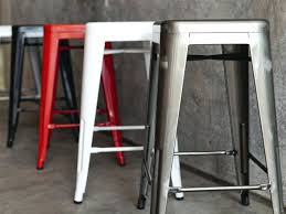 Industrial Metal Bar Stool Bar Stools Industrial Metal Bar Stools With Backs Vintage Wood