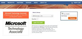 how to pass the microsoft technology associate certification exam