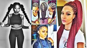 latest stylish ponytail hairstyles for black women 2017 youtube