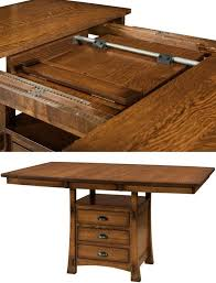 Drop Leaf Bistro Table What Are Butterfly Leaf Dining Tables Countryside Amish Furniture