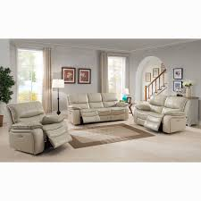 ivory leather reclining sofa luca ivory top grain leather power reclining sofa loveseat and
