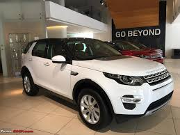 tan range rover scoop 2015 land rover discovery sport spotted undisguised team bhp