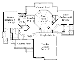 Dual Master Suite Home Plans House Plans With Two Master Bedrooms Moncler Factory Outlets Com