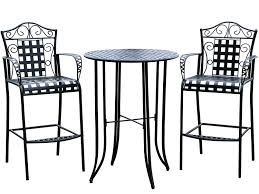 Antique Rod Iron Patio Furniture by Patio Ideas Wrought Iron Patio Furniture Tall Bistro Set Outdoor