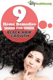 Hair Loss Cure For Women 9 Effective Home Remedies For Black Hair Growth Diy Health Remedy