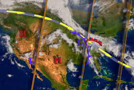Weather Map United States by Cilab Weather Cloudsat And Calipso Help The Study Of Meteorology