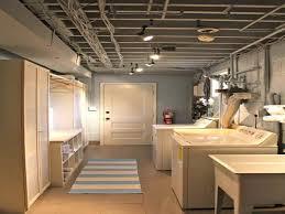 laundry room lighting options lighting for low ceilings in basement wehanghere