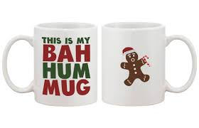 com this is my bah hum mug cute christmas gift idea funny coffee