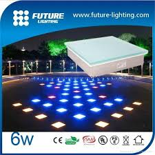 color changing outdoor lights 500x500 rgb color changing led floor tile light outdoor led lighting