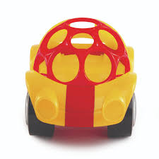 oball rattle and roll car yellow toys