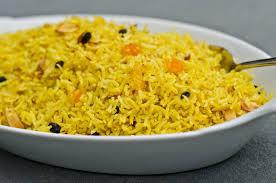 cuisine au safran saffron rice riz au safran mauritian cuisine