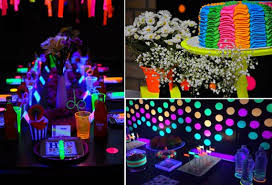 glow in the party diy theme so creative things creative things