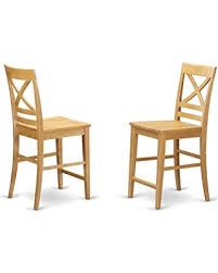 Counter Height Chairs With Back Deals On Qus Oak W Quincy Counter Height Stools With X Back In Oak