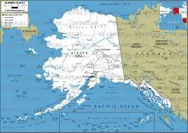 road map alaska usa maps of usa