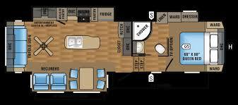 eagle fifth wheel floor plans uncategorized 5th wheel floor plans in fantastic 2016 eagle