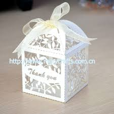 wedding thank you gift laser cut party decoration wedding favor box wedding thank you
