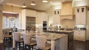 Two Kitchen Islands Classic Kitchen Design With Double Kitchen Island White Kitchen