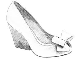 drawn heels cute shoe pencil and in color drawn heels cute shoe