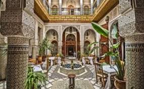 moroccan riad floor plan fes morocco a flavour of the nation telegraph