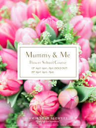 mothers day flowers 20 s day flower school course mummy me amie bone flowers