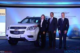 chevrolet trailblazer 2017 chevrolet trailblazer suv brought to india for r u0026d edit now