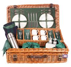 picnic basket for 4 2 4 or 6 person luxury picnic the edwardian from amberley