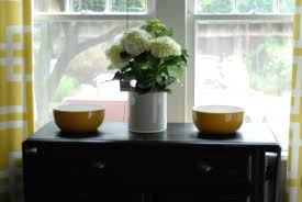 kitchen furniture cute black table with twin yellow bowl excerpt