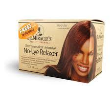 dr miracle hair no lye relaxer regular hair library
